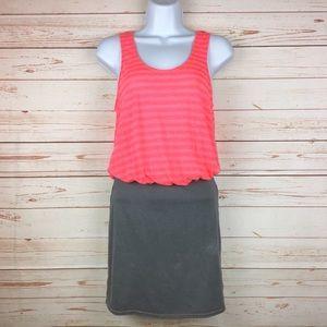 Free People FP Beach Coral & Gray Dress Sz XS